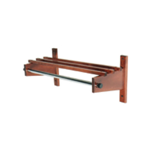 Commander Series Coat Rack with Channel Rod
