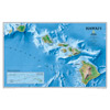Hawaii Wall Maps