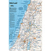 Holy Land, 2-Sided Wall Map