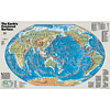 The Earths Fractured Surface Wall Map