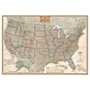 United States Executive Wall Map
