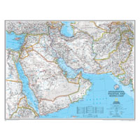 Afghanistan/Pakistan/Mideast Wall Maps