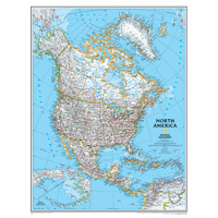 North America Wall Maps