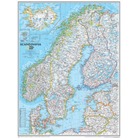 Scandinavia Wall Maps