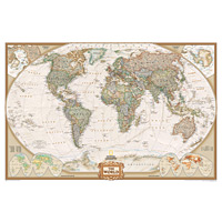 Wall Maps - World Executive