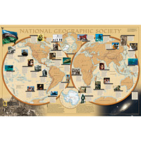 Wall Maps - World of National Geographic