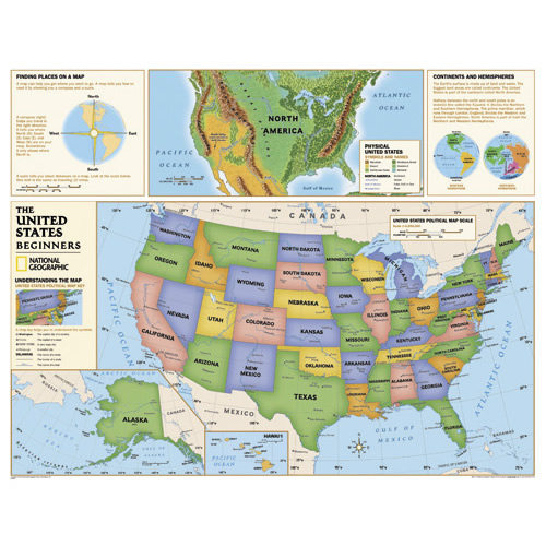 Beginners US/World Maps