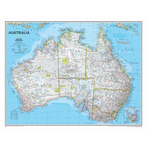 Australia Wall Maps