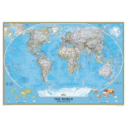 Wall Maps - World Classic (Political)
