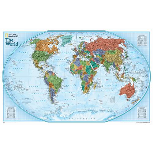 Wall Maps - World Explorer