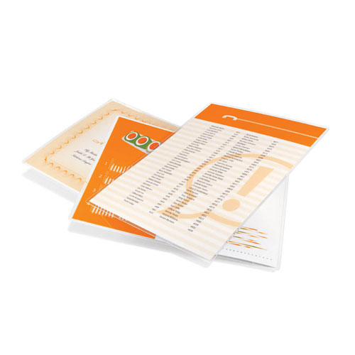 HeatSeal® Crystal Clear Economy Thermal Laminating Pouches