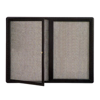 Quartet® Radius Fabric Bulletin Boards