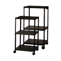 Quartet® Adjustable Height AV Cart