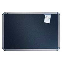 Quartet&reg; Prestige&reg; Black Embossed Foam Bulletin Boards