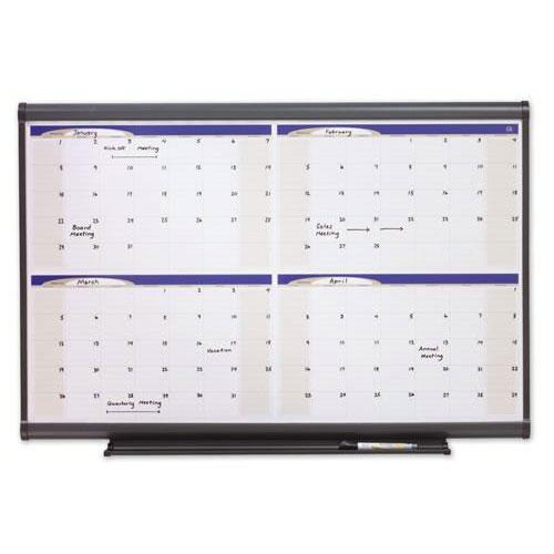 Quartet® Prestige® Total Erase® Planner and Calendar Boards