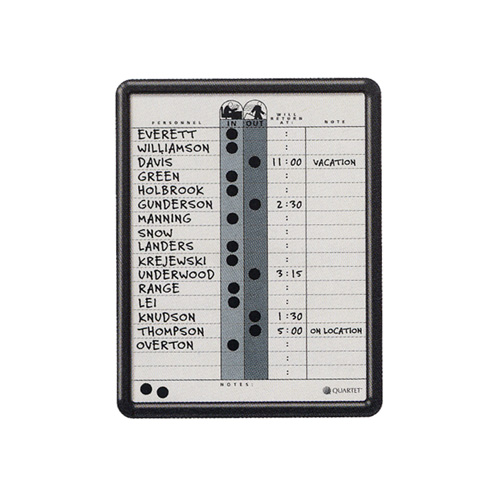 Quartet® Grey In/Out Board