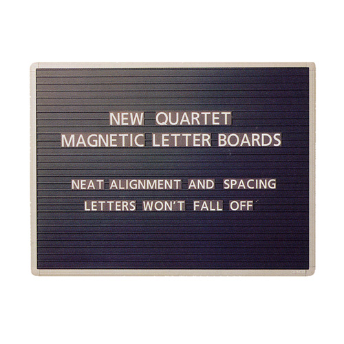 Quartet® Magnetic Letter Boards