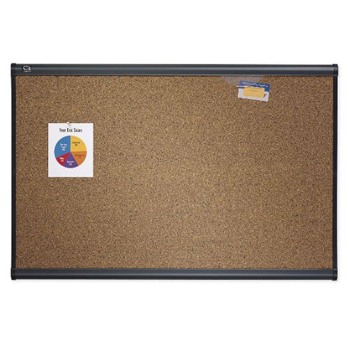 Quartet® Prestige® Cork Bulletin Boards