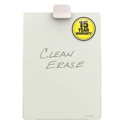 Glass Dry-Erase Desktop Easel