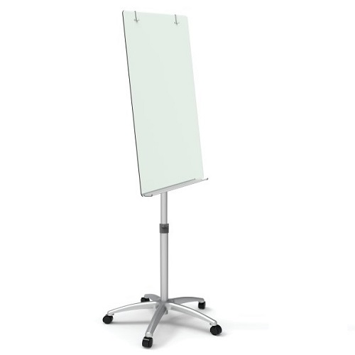 Infinity™ Glass Dry-Erase Board Portable Easel