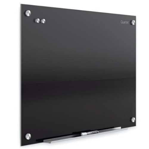 Infinity™ Magnetic Black Glass Dry-Erase Board