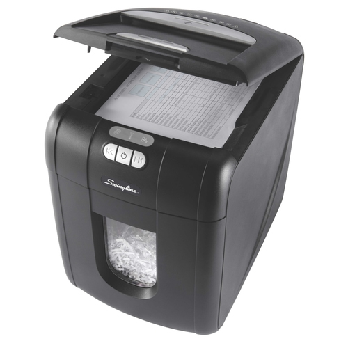 Swingline™ Stack-and-Shred™ EX100-07 Automatic Shredder - Security Level 3