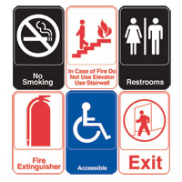 "6"" x 9"" All Purpose Signs"