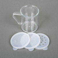 Acrylic Dredge/Measuring Cup