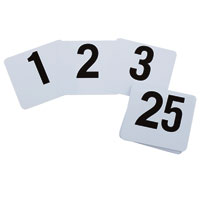 Numbered Table Sets