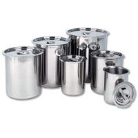 Stainless Steel Bains-Marie and Lids
