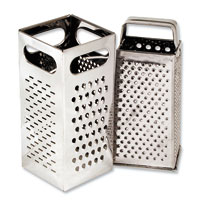 Stainless Steel Four-Sided Graters