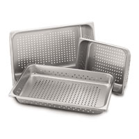 Stainless Steel Perforated Pans
