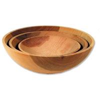 Wood Chop Bowls