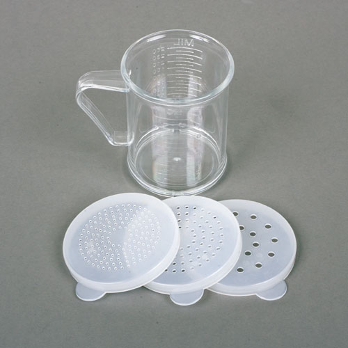 Acrylic Dredge/Measuring Cup