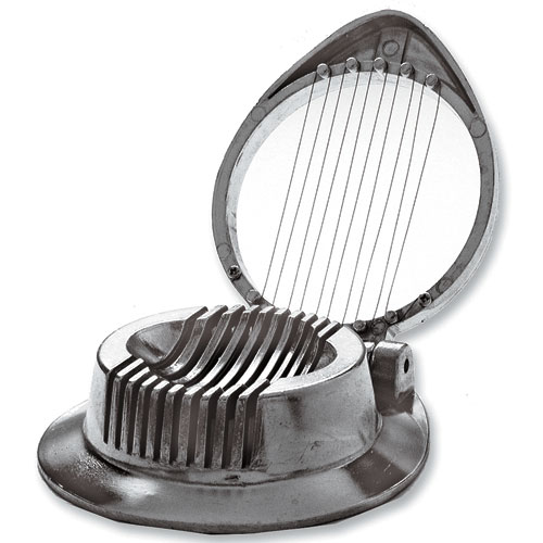 Cast Aluminum Egg Slicer