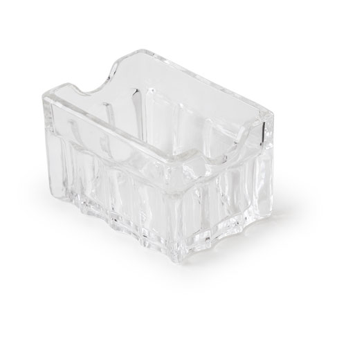 Glass Sugar Packet Caddy