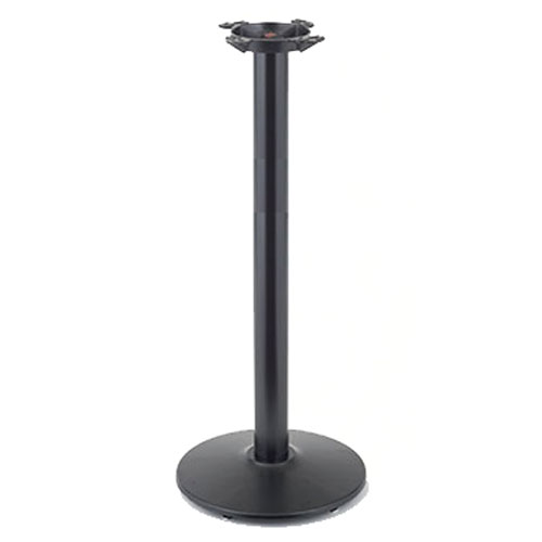 "Coffee Height Round Large Table Base Round Column: ROYRTB30RDISCO Table Base And Column Set, 30"" Round Base"