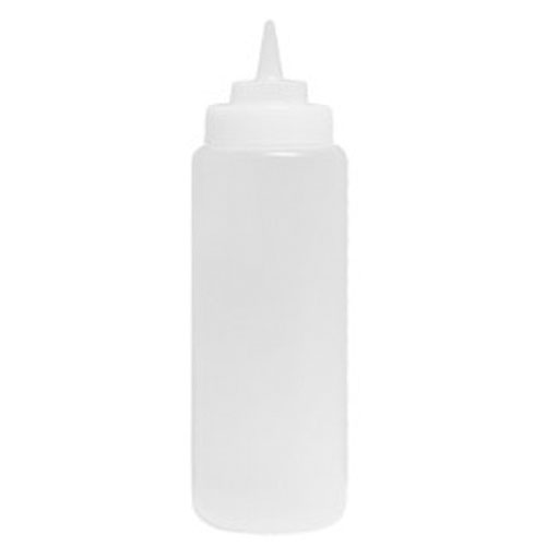 Condiment Squeeze Bottles and Tops