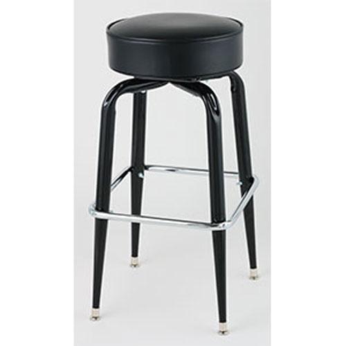 Standard Seat Black Square Frame Bar Stools