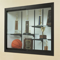 Recessed Display Cases