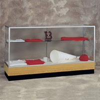 Merchandiser Series 2010 Aluminum Frame Display Case