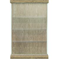 Vantage Lighted Floor Display Case - Right Sliding Door