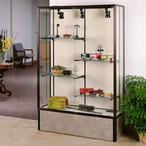 Monarch Series Aluminum Frame Display Cases