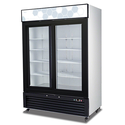 C 49rs competitor series sliding glass door refrigerator for 4 ft sliding glass door