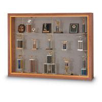 Wood Framed Display Cases