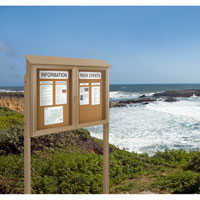 Posts for Outdoor Message Centers
