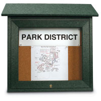 Mini Message Corkboards with Optional Posts