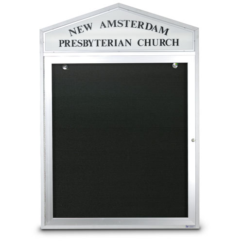 Cathedral Design Outdoor Letterboards