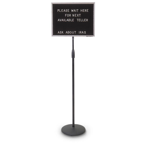 Adjustable Pedestal Letter Boards