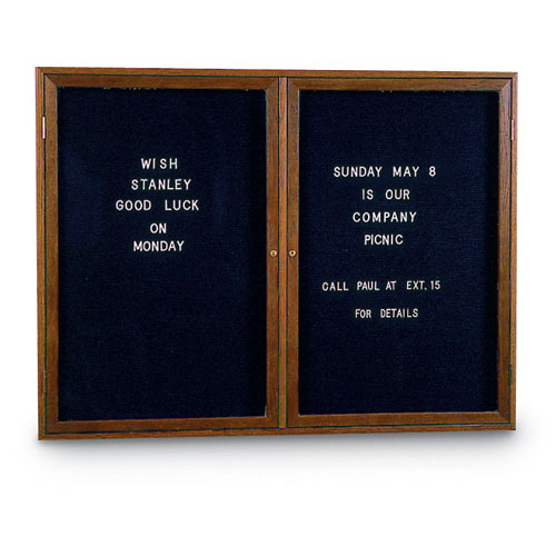 Indoor Enclosed Letterboards